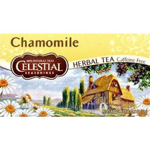 Celestial Seasonings Caffeine Free Chamomile Natural Herbal Tea 20 ea (Pack of 3)