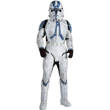 Morris costumes RU82015MD Clone Trooper Medium Child - Clone Trooper Costumes