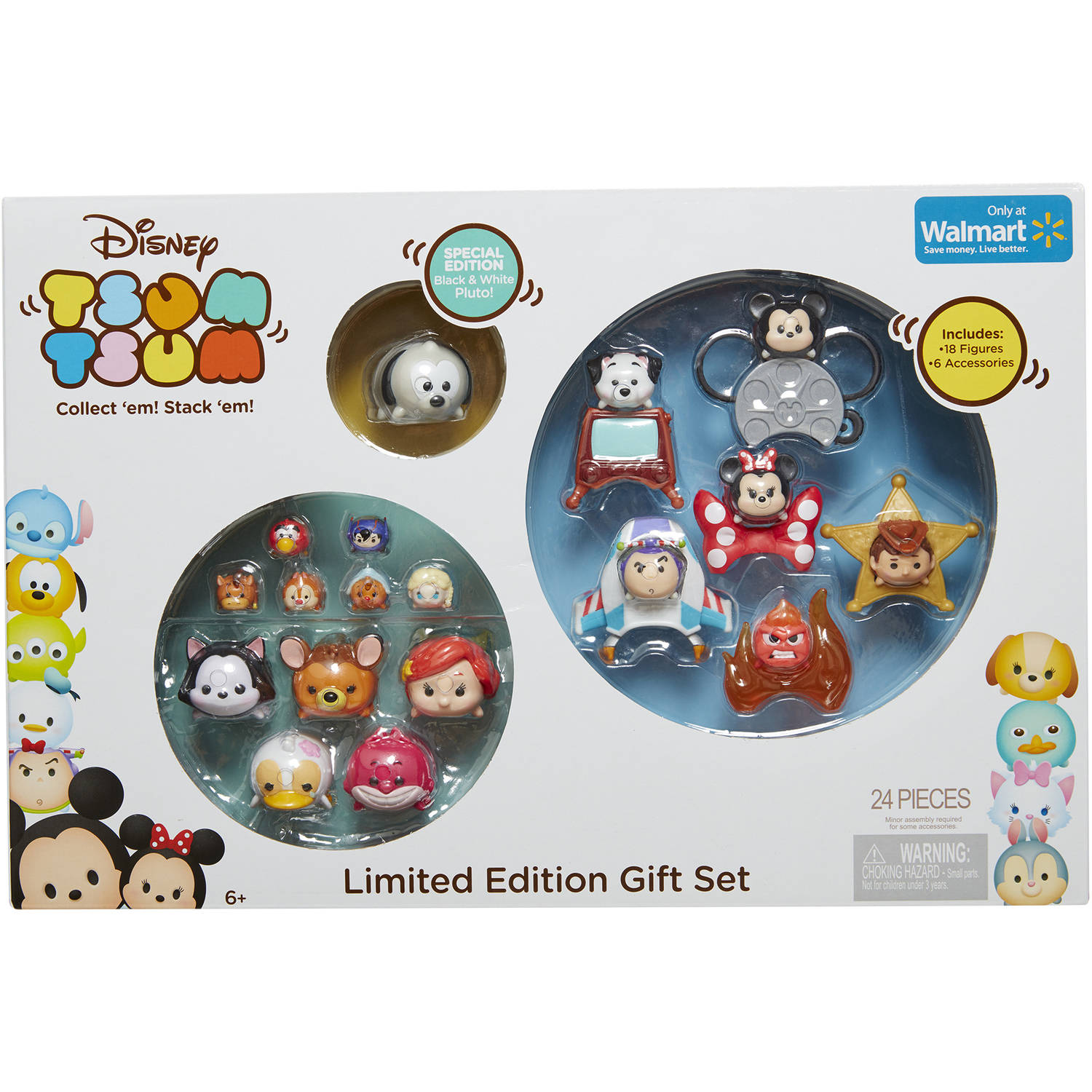 Jakks Pacific Tsum Tsum Limited Edition Gift Set