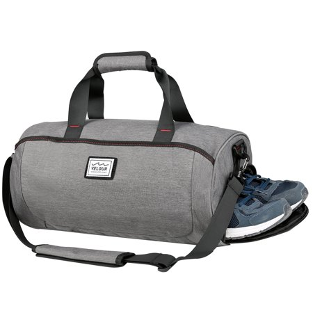 0da89e3fabb1 Portable Travel Bag Large-capacity Sport Bag for Men and Women, Vbiger  Durable Traveling Shoulder Bag, Grey