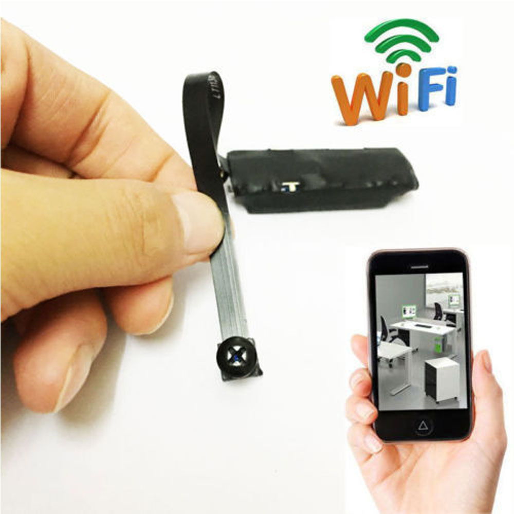 Ktaxon Wireless WiFi IP Hidden Spy Camera DIY Module IP Cam Mini DV Nanny Cam Micro DVR
