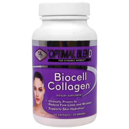 Olympian Labs Inc   Optimal Blend  Biocell Collagen  For Women  60 Capsules Pack Of 1