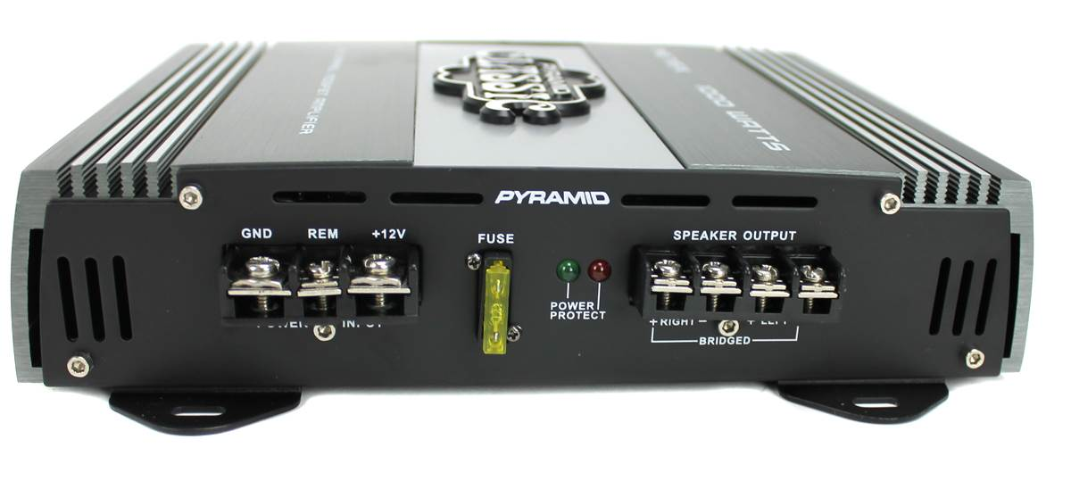 4 Pack Pyramid 1000W 2 Channel Car Audio Amplifier Power Amp MOSFET 2 Ohm