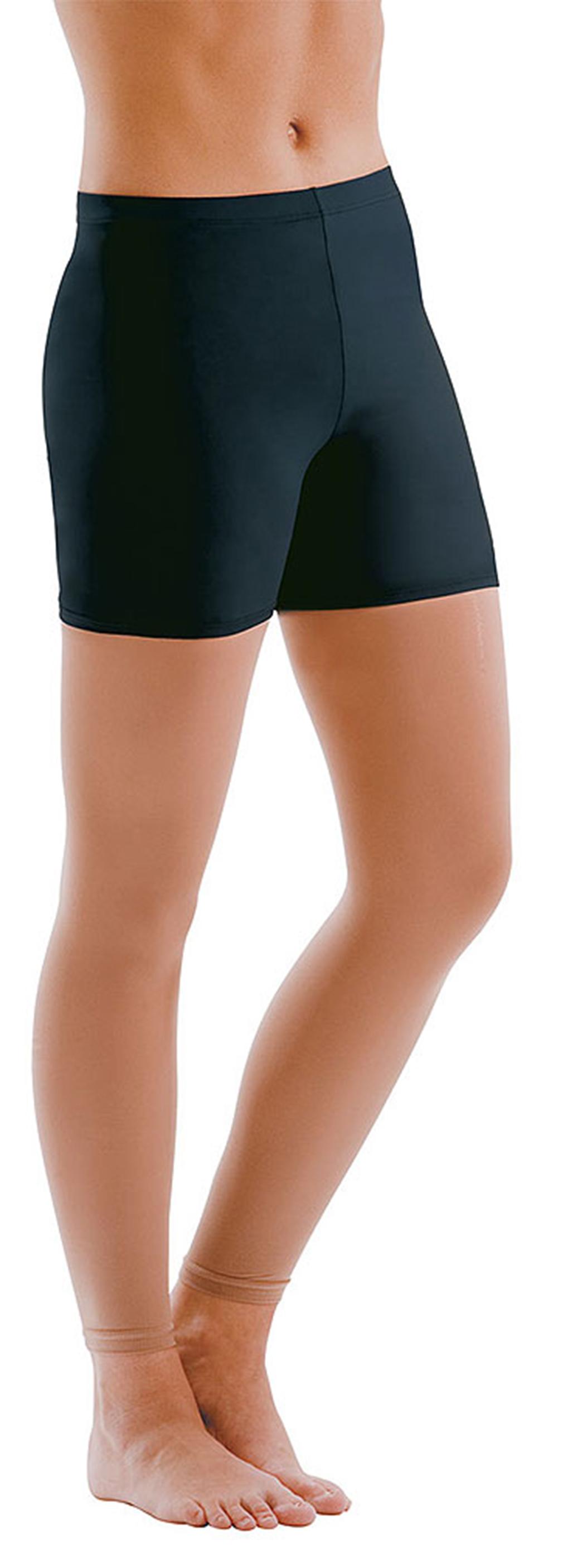 Motionwear Women's Low Rise Bike Shorts L BLACK by