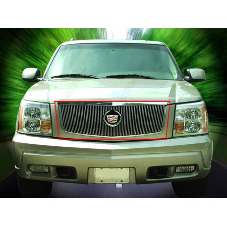 Fedar Main Upper Billet Grille For 2002-2006 Cadillac (00 Cadillac Escalade Carpet)