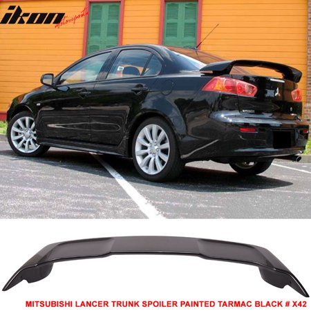 Fits 08-15 Mitsubishi Lancer OE Factory Style Trunk Spoiler - ABS