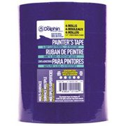 Blue Dolphin Painter'S Tape, 1-1/2 In., Blue, 1.41 In. X 60 Yd., 4 Rolls Per Pack