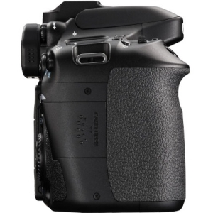 "Canon EOS 80D 24.2 Megapixel Digital SLR Camera Body Only - Black - 3"" Touchscreen LCD - 16:9 - E-TTL II - 6000 x 4000 Image - 1920 x 1080 Video - HDMI - PictBridge - HD Movie Mode - Wireless LAN"