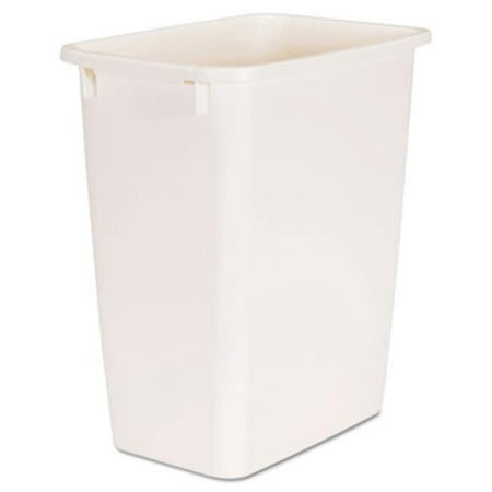 Rubbermaid Commercial Products 2805BIS 5.25 gal Open-Top Plastic Rectangular Wastebasket, Bisque - image 1 de 1