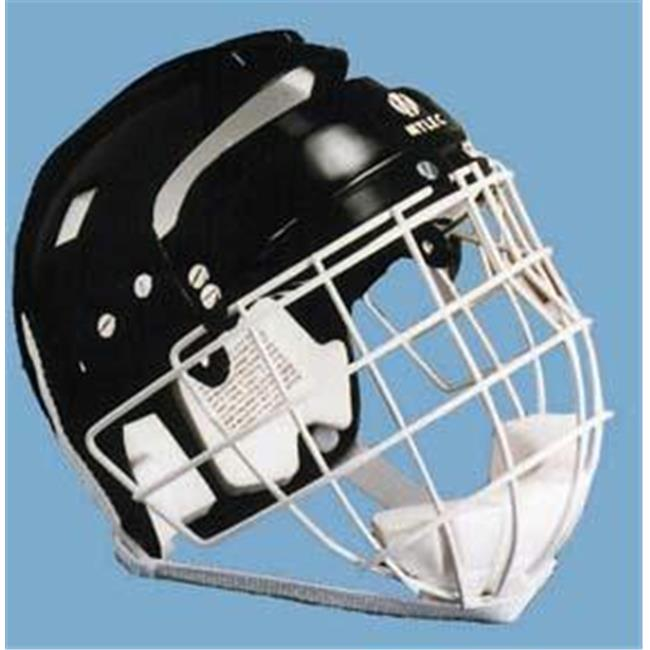 Olympia Sports HO205P Hockey Helmet with Wire Face Cage Junior by Olympia Sports