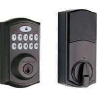 Kwikset 913 SmartCode® Electronic UL Deadbolt featuring SmartKey Security? in Venetian Bronze
