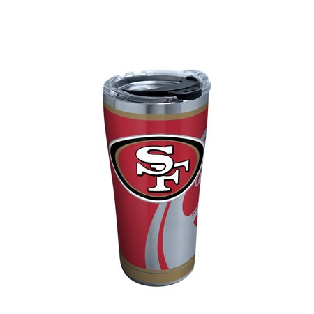 NFL San Francisco 49ers Rush 20 oz Stainless Steel Tumbler with lid San Diego Chargers Nfl Tumbler