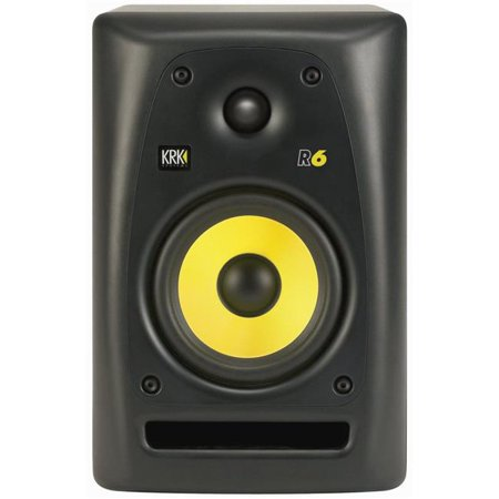 KRK Systems KRK-R6 6 in. Passive 2-Way Reference Monitor Speaker 2 Way Passive Studio Monitor