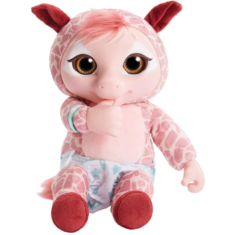 Jakks Animal Babies Deluxe Electronic Plush, Baby Giraffe...