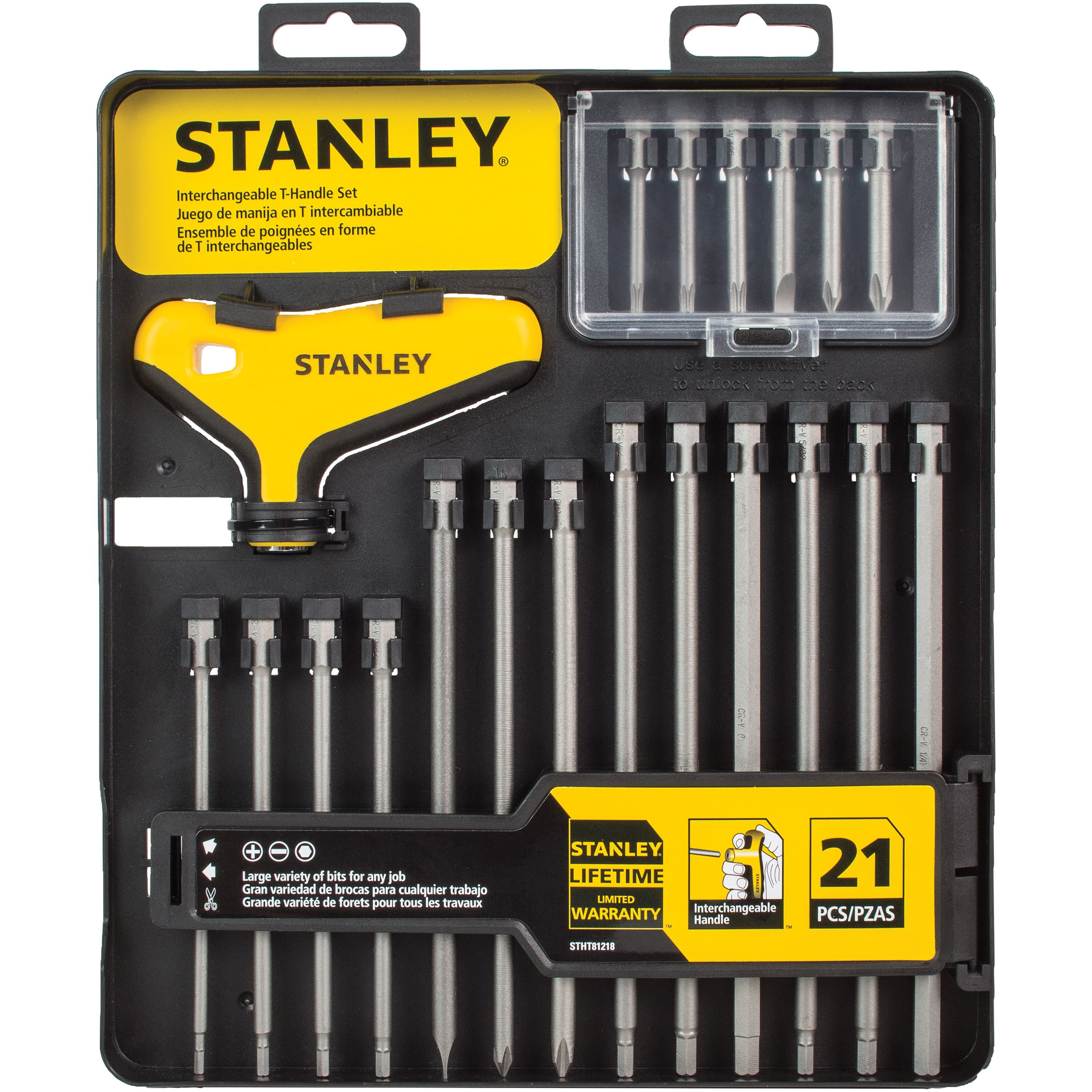 STANLEY STHT81218 21pc T-Handle Set