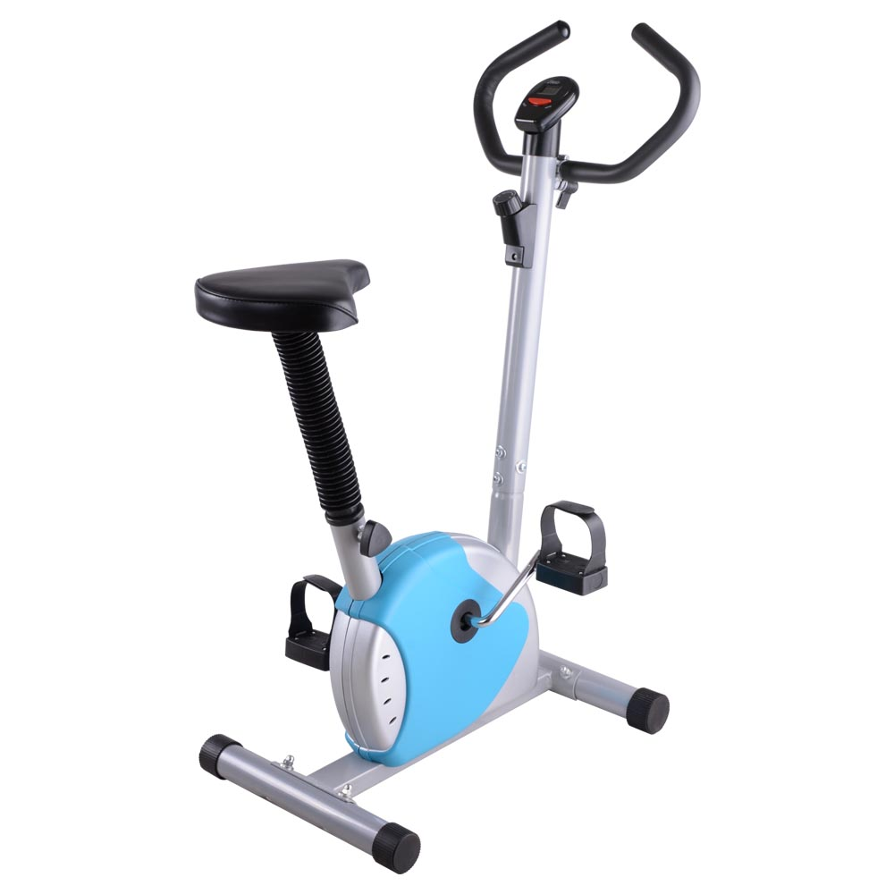 Exercise Bike Fitness Cycling Machine Cardio Aerobic Equipment Workout Gym Blue by AW