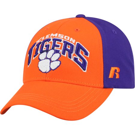 Men's Orange/Purple Clemson Tigers Tastic Adjustable Hat - OSFA - Clemson Tigers Colors