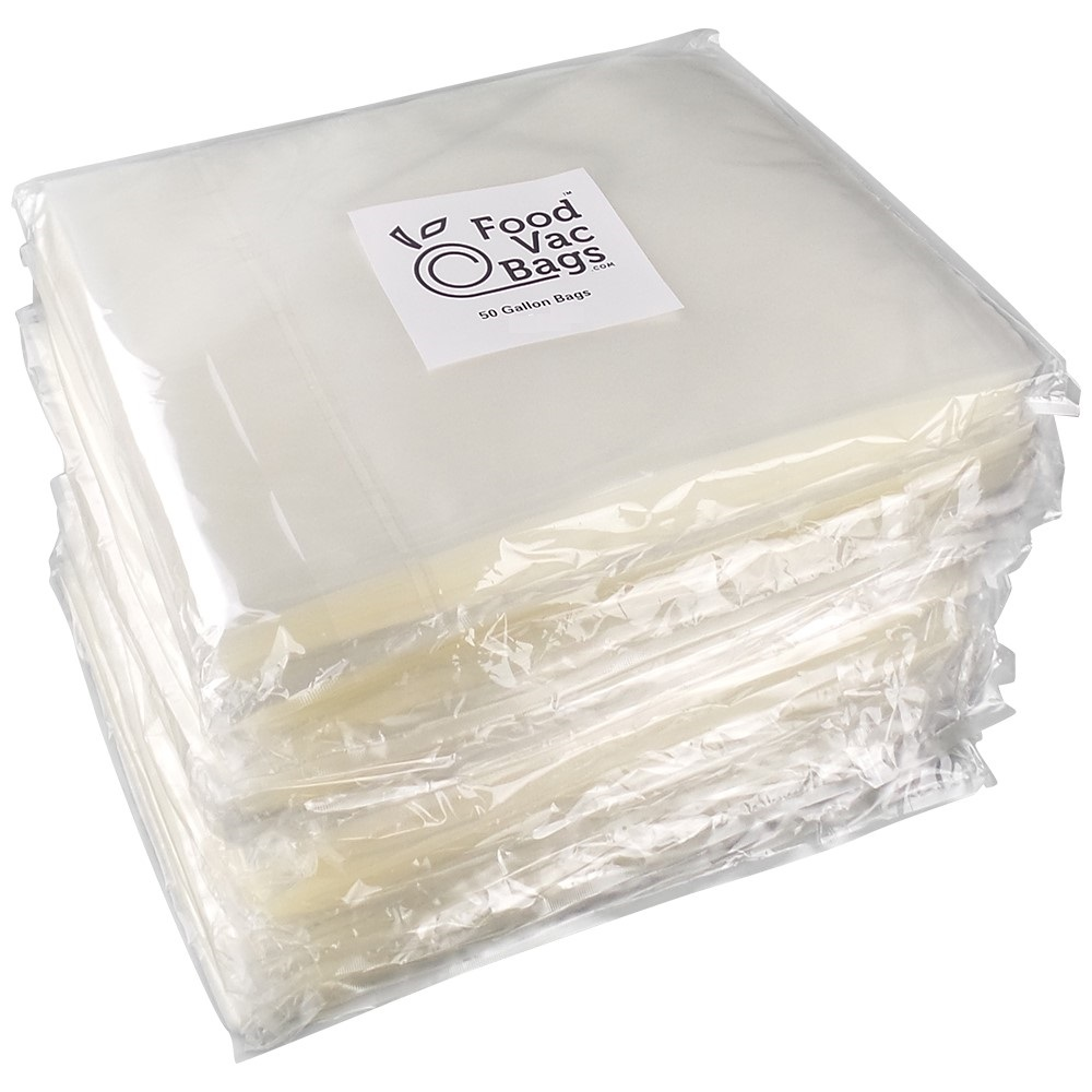 "600 FoodVacBags 11"" X 16"" Gallon 4 mil Embossed Vacuum Sealer Bags for Foodsaver and All Tabletop Vacuum Sealer Machines by Foodvacbags"