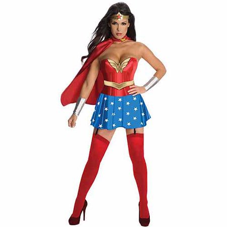 Wonder Woman Adult Halloween Costume - Wonder Bread Halloween Costume