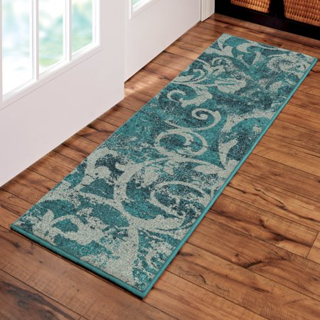 Orian Rugs Watercolor Scroll Multi Colored Area Rug Or