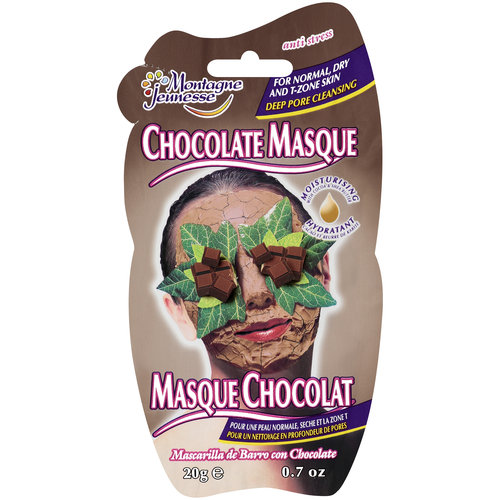 Montagne Jeunesse Chocolate Anti Stress Masque, 0.7 oz