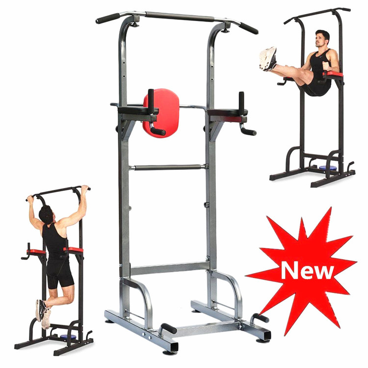 Fitness Power Tower With Dip Stand Pull up Chin up Bar St...