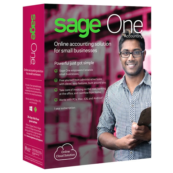 Sage One Accounting 2018 (1 Year)