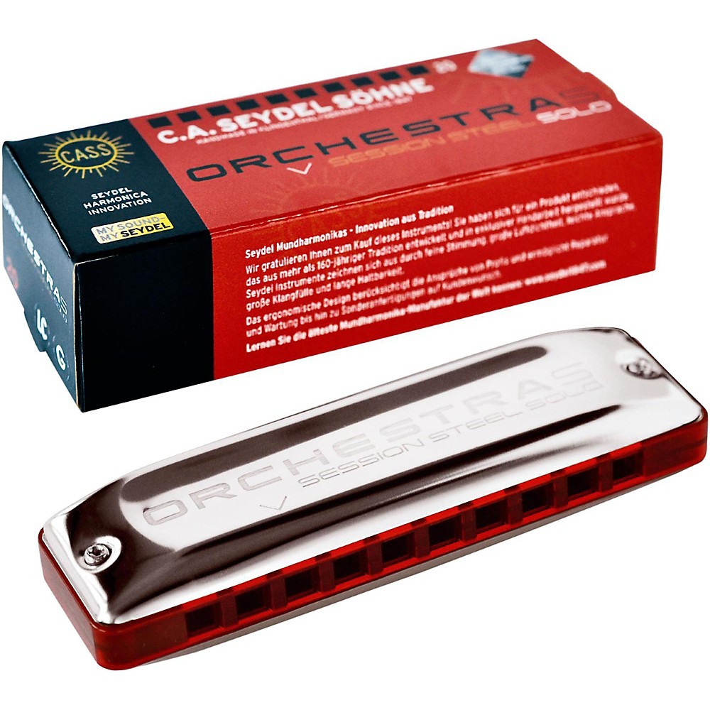 SEYDEL ORCHESTRA S Session Steel Harmonica Key of Low C