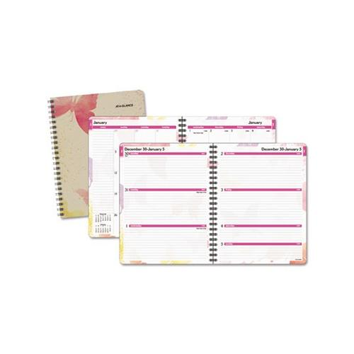 Watercolors Weekly/Monthly Planner AAG791905G