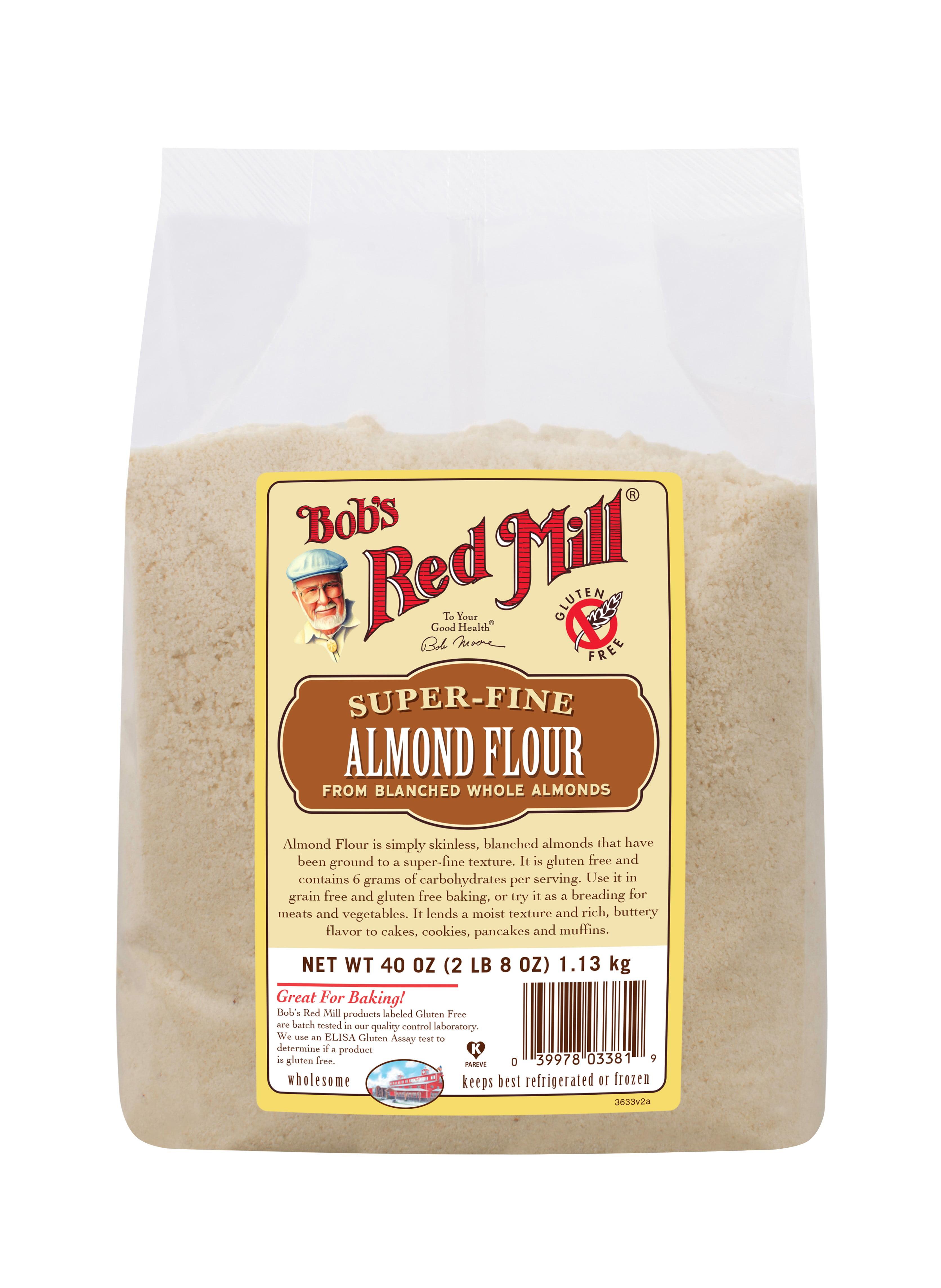 Bobs Red Mill Super Fine Almond Flour, 40 Oz - Walmart.com