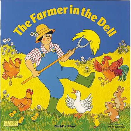 Classic Books with Holes 8x8: The Farmer in the Dell (Paperback) for $<!---->