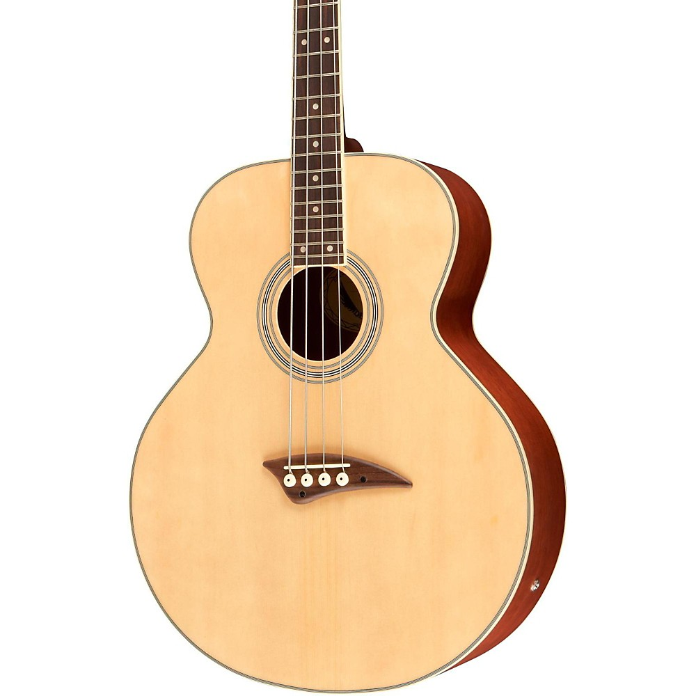 Dean Acoustic Electric Bass, Satin Natural by