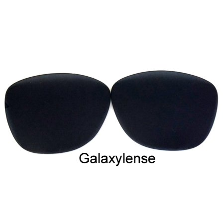 Galaxy Replacement Lenses For-Oakley Frogskin Iridium Black Polarized 100%UVAB (Frogskins Matte Black)