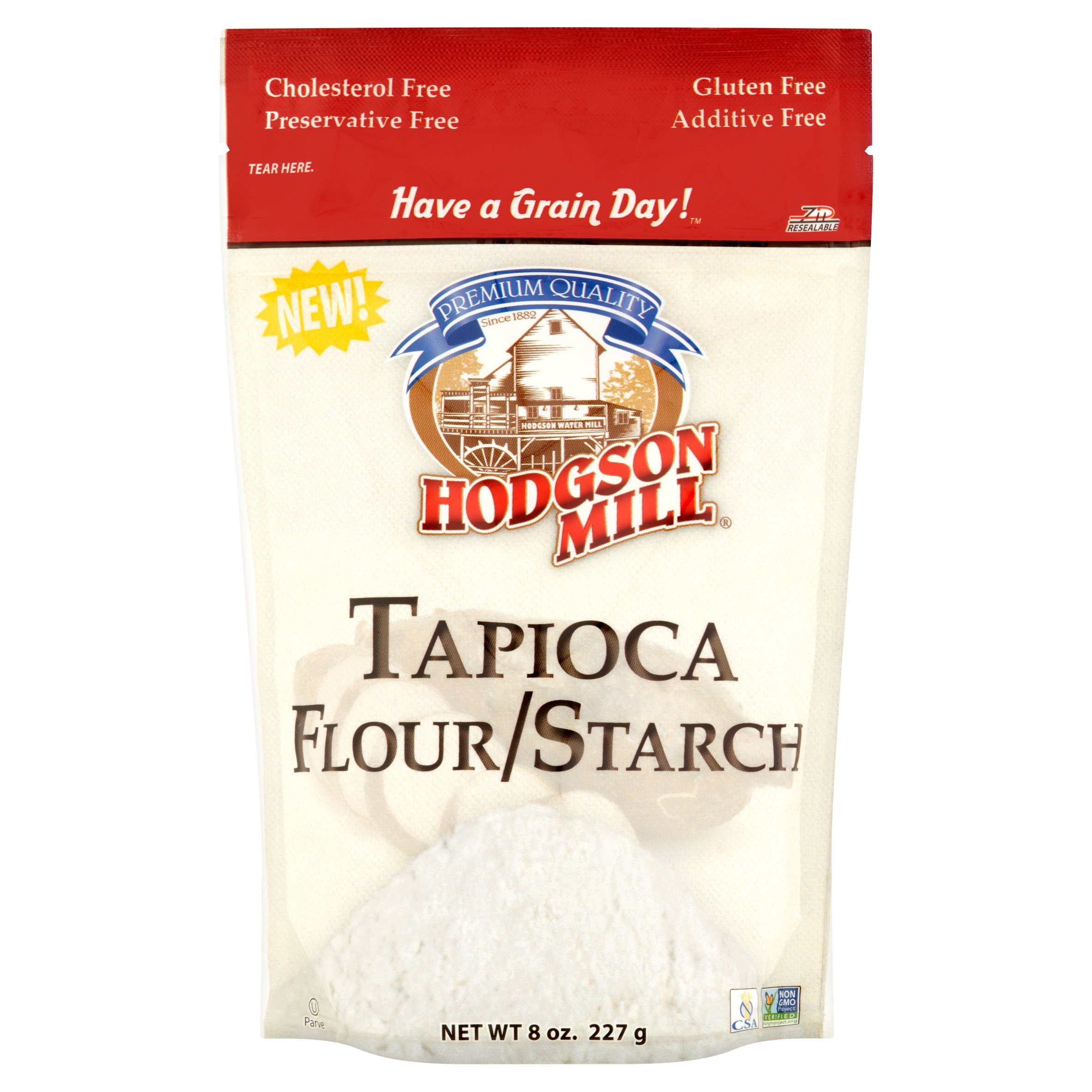 (3 Pack) Hodgson Mill Tapioca Flour/Starch, 8 oz