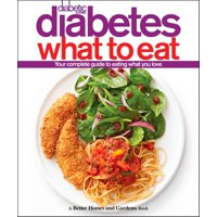 Better Homes & Gardens: Diabetic Living Diabetes What to Eat (Hardcover)
