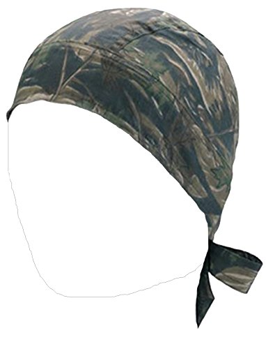 Camo Hunters Do Sweatband  Bandana SKULL CAP Mens Doo RAG Head Biker Du Hats