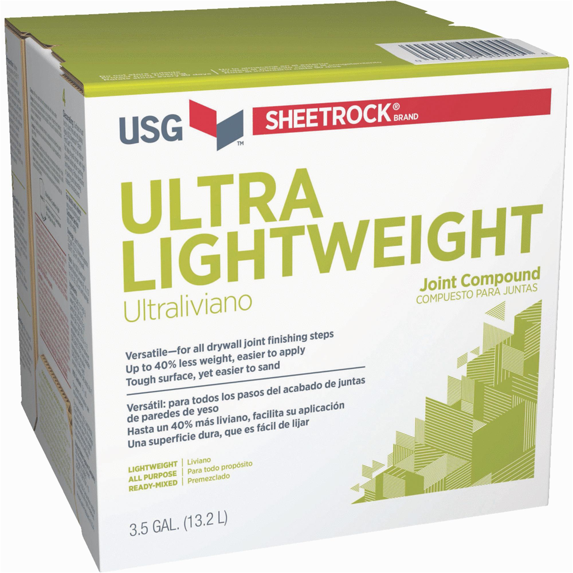 SHeetrock Pre-Mixed Ultra Lightweight All-Purpose Drywall Joint Compound by USG