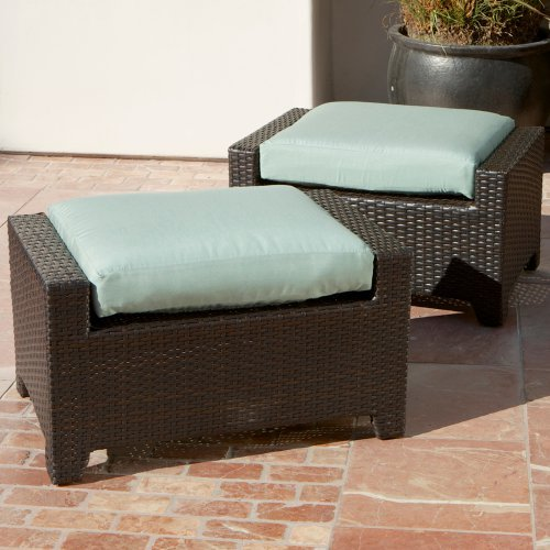 RST Outdoor Bliss Club Ottoman - Set of 2