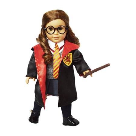 My Brittany's 10 PC Hermione Granger Inspired Outfit For American Girl Dolls and My Life as Dolls 18 Inch Doll