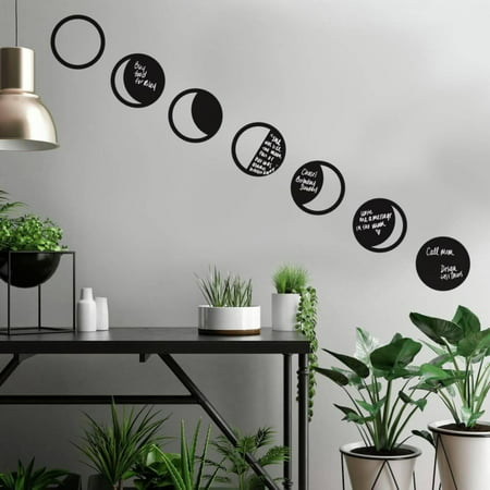 - Phases Of The Moon Chalk Peel and Stick Wall Decals