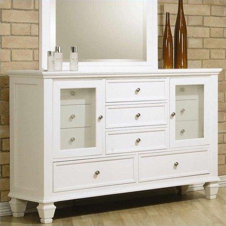 Coaster Company Sandy Beach Collection Dresser White