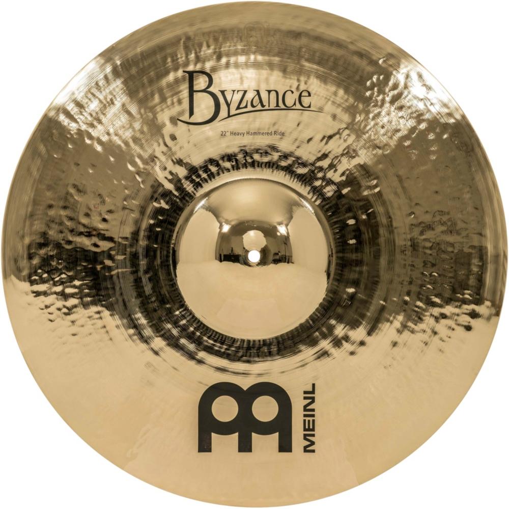Meinl Byzance Brilliant Heavy Hammered Ride Cymbal 22 in. by Meinl