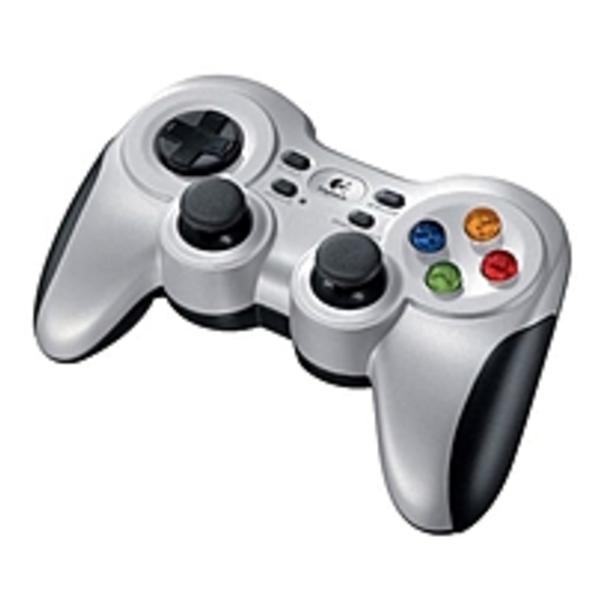 Refurbished Logitech F710 Gaming Pad - Wireless - USB - PC - Force Feedback