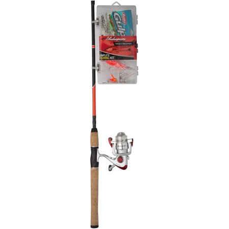 Shakespeare Catch More Fish Red Fish Trout Spinning Combo