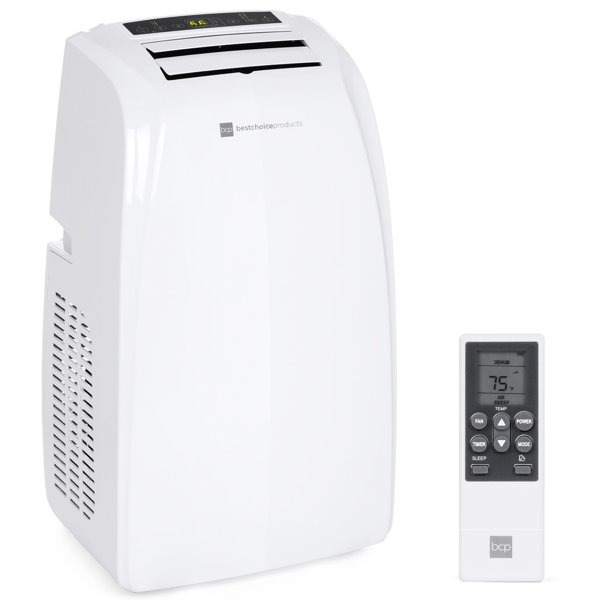 Best Choice Products 14,000 BTU Portable Air Conditioner Cooling & Heating Unit w/ Remote Control, Window Kit