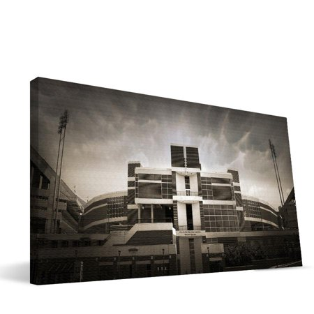 Clemson Death Valley Stadium - Clemson 16x36 Memorial Stadium Canvas