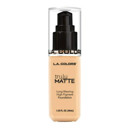 L.A. COLORS Truly Matte Foundation - Porcelain