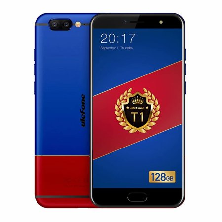 Smartphone Mobile Phone,Unlocked Cell Phones Ulefone T1 Global Version, 6GB+128GB 5.5