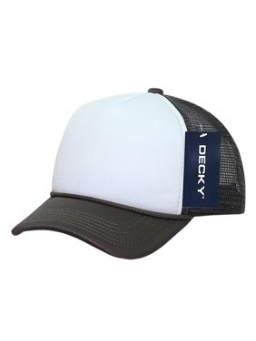 57c8e65262bdf Product Image Decky 7010 Kids Foam Trucker Cap-Charcoal White