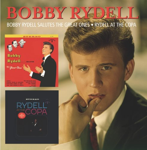 Bobby Rydell - Salutes the Great Ones/at the Copa [CD]